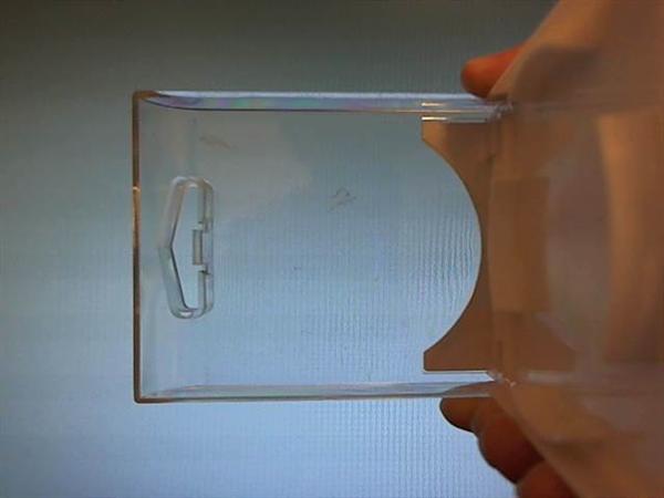 ガラスやプラスチック歪の簡易撮影