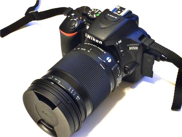 ニコン 一眼レフカメラ D5500レビュー