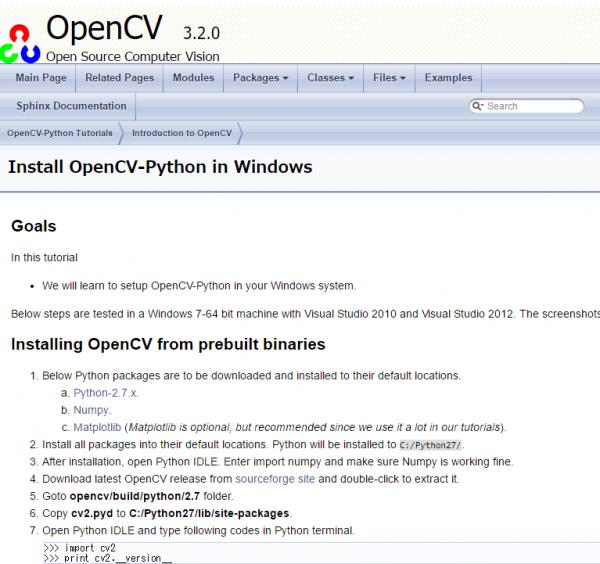 Python Install OpenCV Anaconda