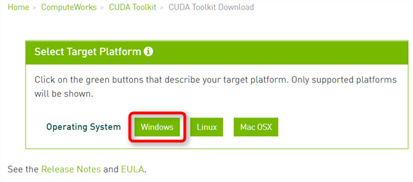 CUDA6.1 download install
