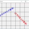 【C#】文字列の回転描画