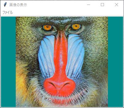 Python tkinter Canvasに画像を表示する