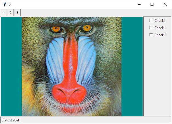 Python tkinterによるGUIプログラム