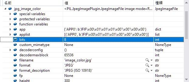 Pillow Image BitCount Channels