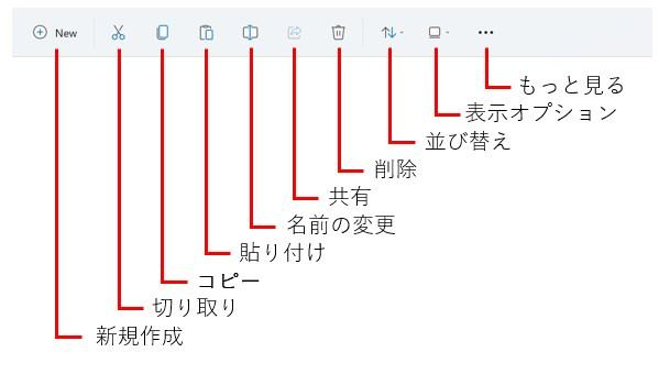 Windows11 エクスプローラ