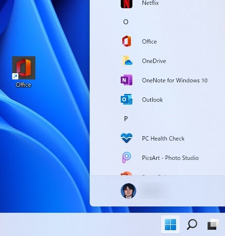Windows11 アプリのショートカットの作成方法
